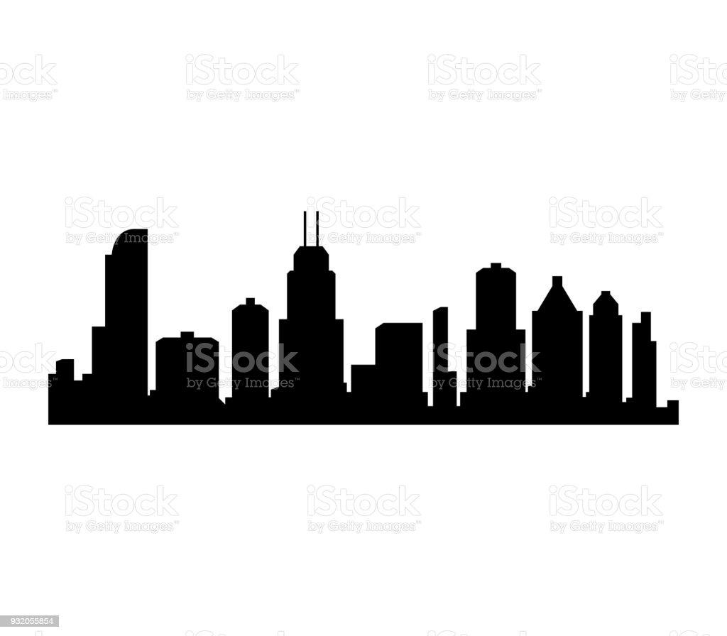 royalty free chicago skyline clip art vector images illustrations rh istockphoto com  chicago skyline flag vector