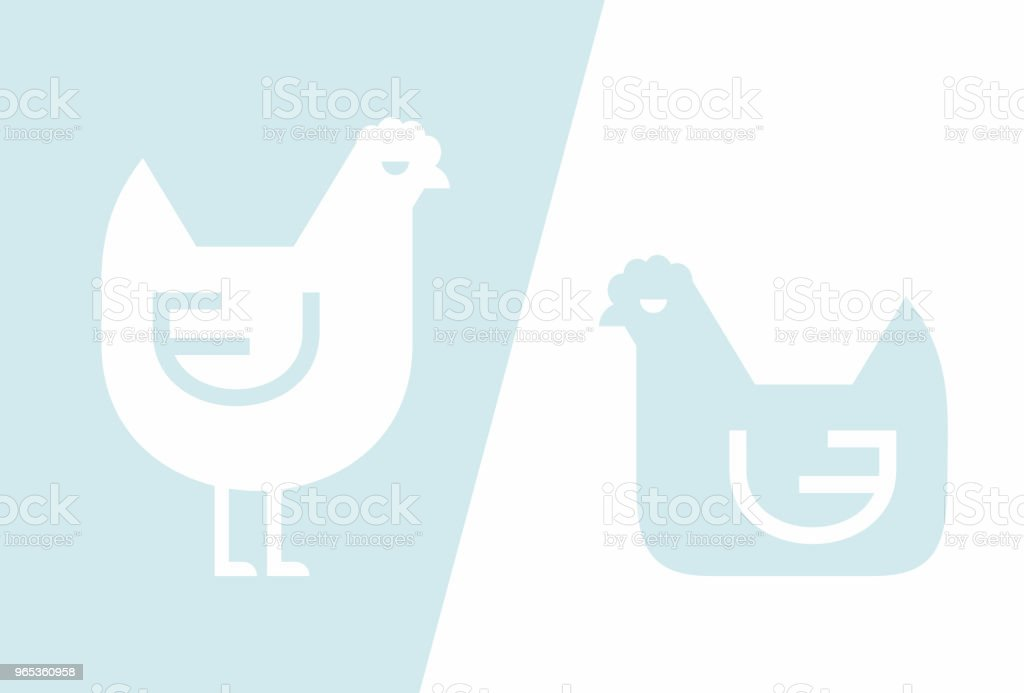 Chicken icon royalty-free chicken icon stock vector art & more images of agriculture