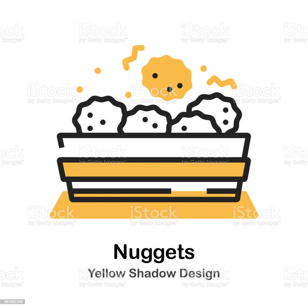 royalty free chicken nugget clip art vector images illustrations rh istockphoto com chicken nuggets and fries clipart clipart chicken nuggets