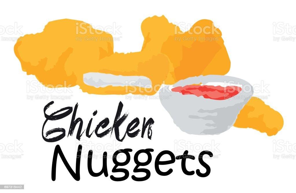 royalty free chicken nugget clip art vector images illustrations rh istockphoto com chicken nuggets clipart black and white chicken nuggets clipart free
