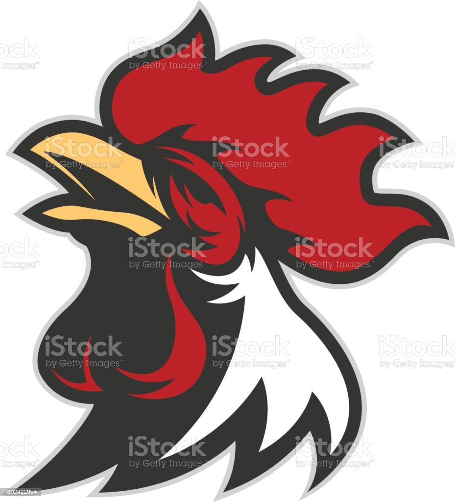 royalty free gamecock clip art vector images illustrations istock rh istockphoto com gamecock clipart free Outline of Gamecock Clip Art