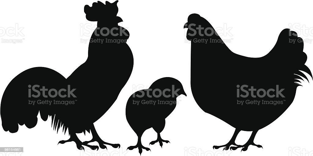 치킨 실루엣 royalty-free 치킨 실루엣 0명에 대한 스톡 벡터 아트 및 기타 이미지
