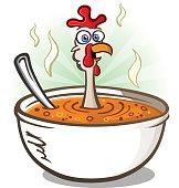 Chicken Soup Cartoon Character