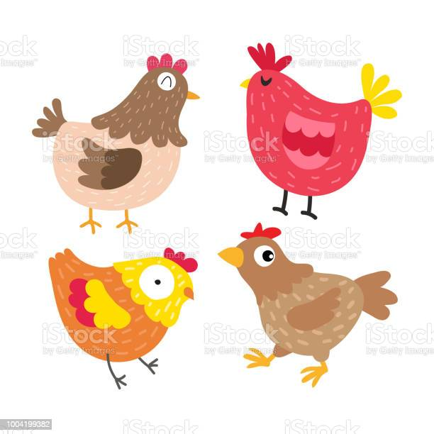 Chicken vector collection design vector id1004199382?b=1&k=6&m=1004199382&s=612x612&h=tvz3ypvtcozetaizddg0e41pufytxzx35ipvjkwz1xy=