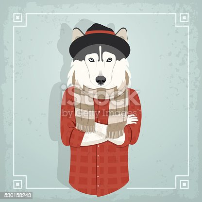 istock Chico animal hipster 530158243