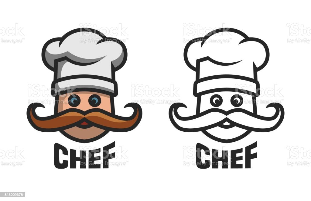 Chief , two options. vector art illustration