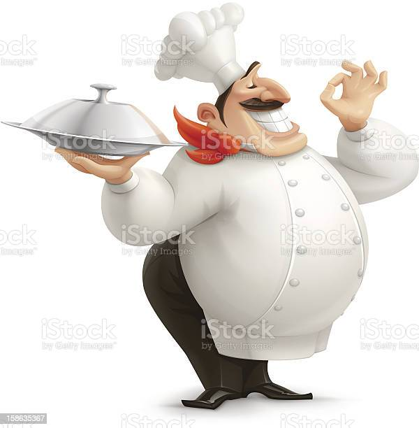 Chef Stock Illustration - Download Image Now