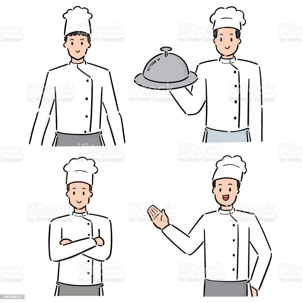 chef - Grafika wektorowa royalty-free (Bazgroły - Rysunek)