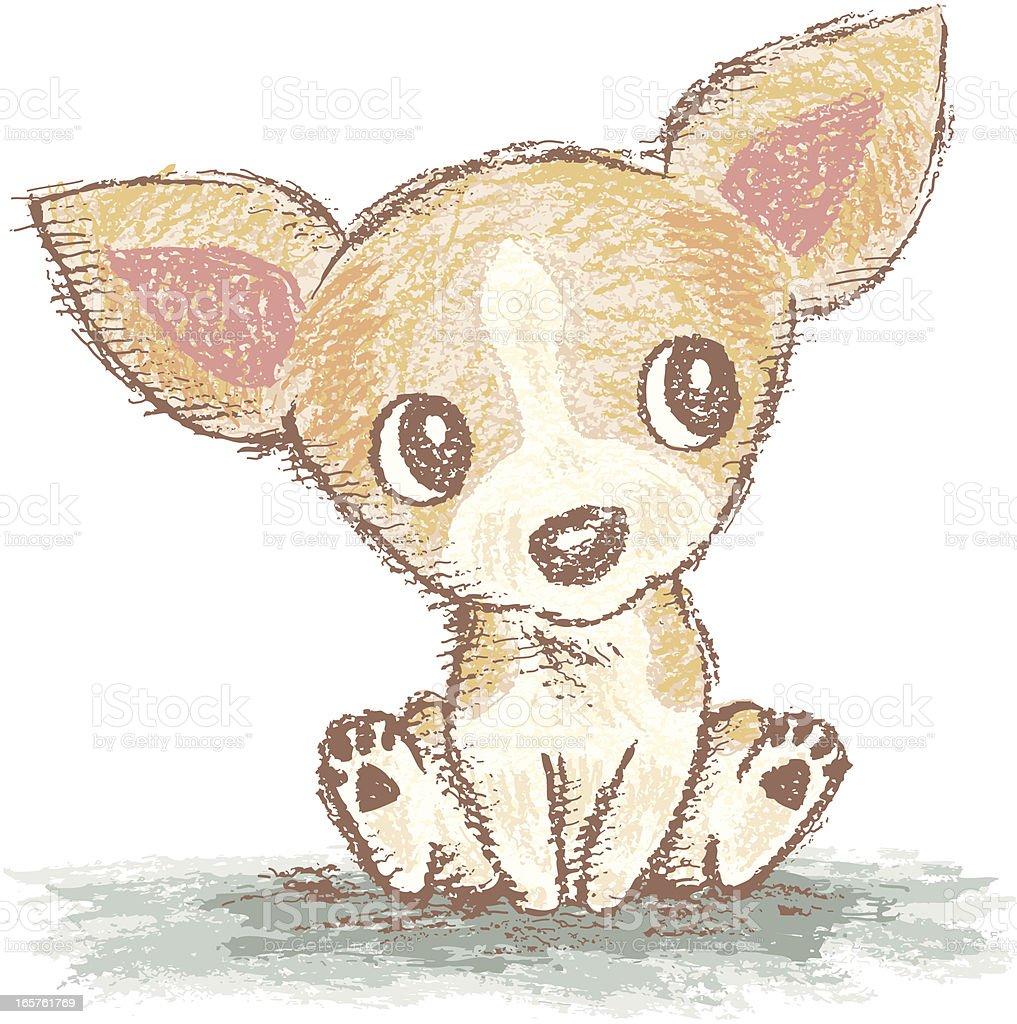 Ilustración De Chihuahua Es De Estar Y Más Banco De Imágenes De