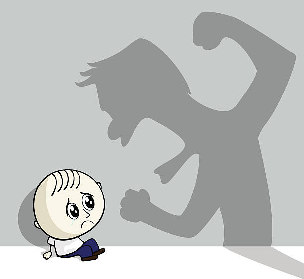 child abuse - child abuse stock illustrations
