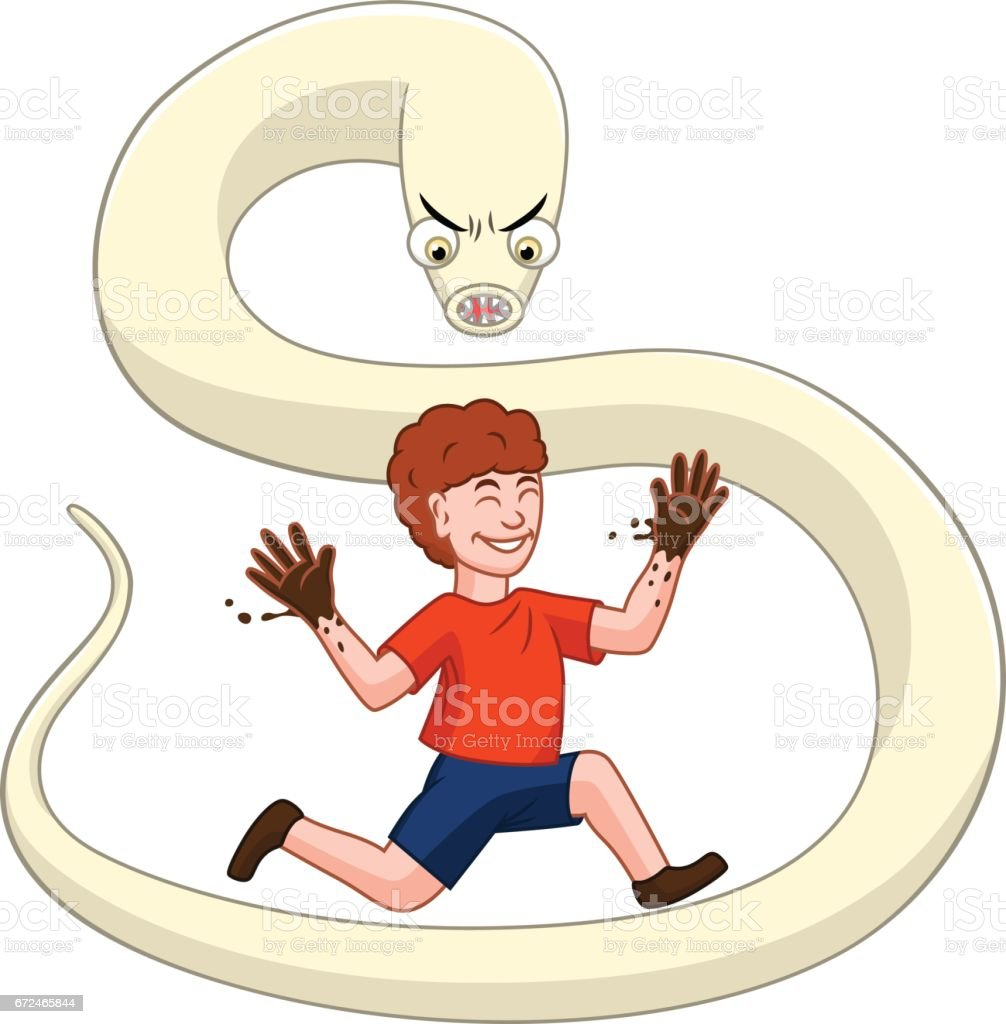 Child and parasite royalty-free child and parasite stock vector art & more images of animal