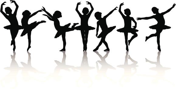 Child Ballerina Silhouette Collection
