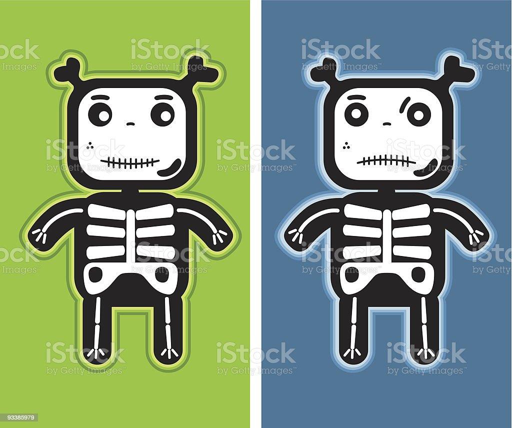 child bones royalty-free stock vector art