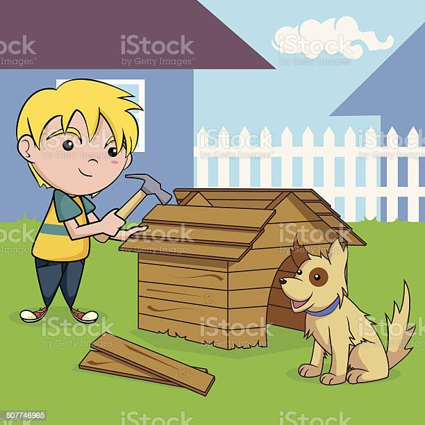 Child building dog house vector id507746965?b=1&k=6&m=507746965&s=612x612&h=dmrhjxuv54rit7zlnsg9by ax5c6iwzfmisquc8xmy0=
