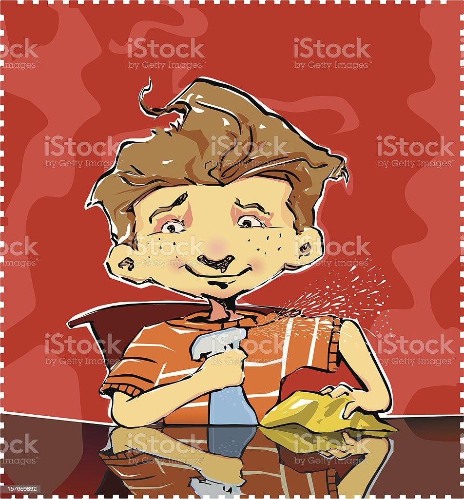 Child doing homework royalty-free child doing homework stock vector art & more images of activity