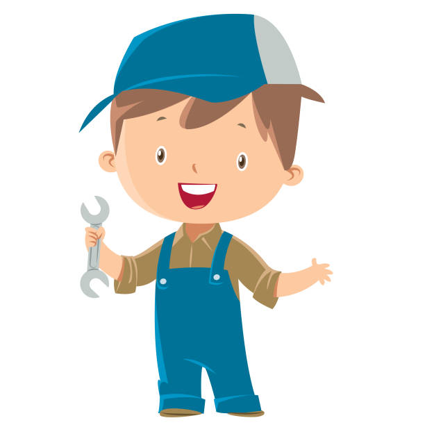 Child Engineer Illustrations, Royalty-Free Vector Graphics ...