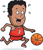 Child Playing Basketball Stock Vector Art More Images Of 2015