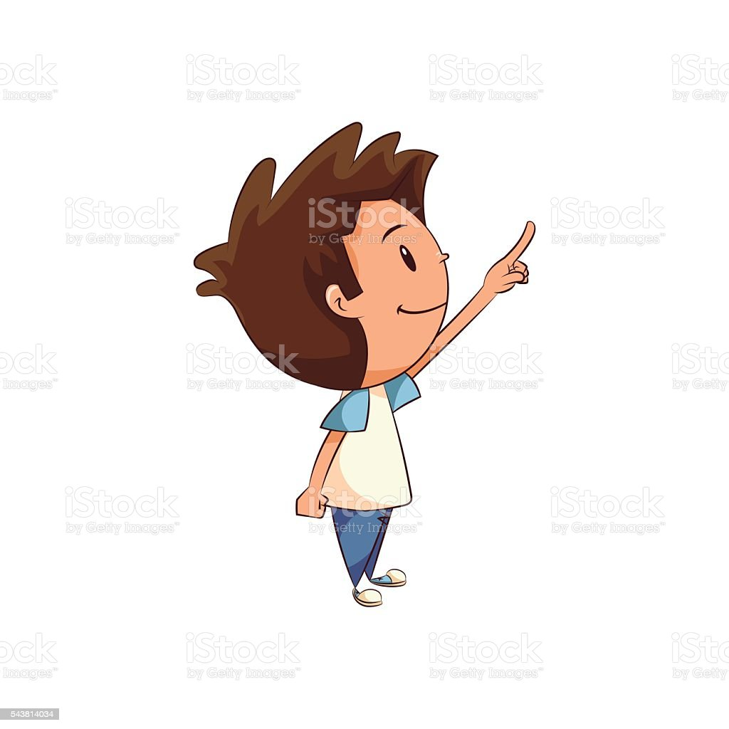 royalty free toddler pointing clip art vector images rh istockphoto com pointing clipart png painting clip art images