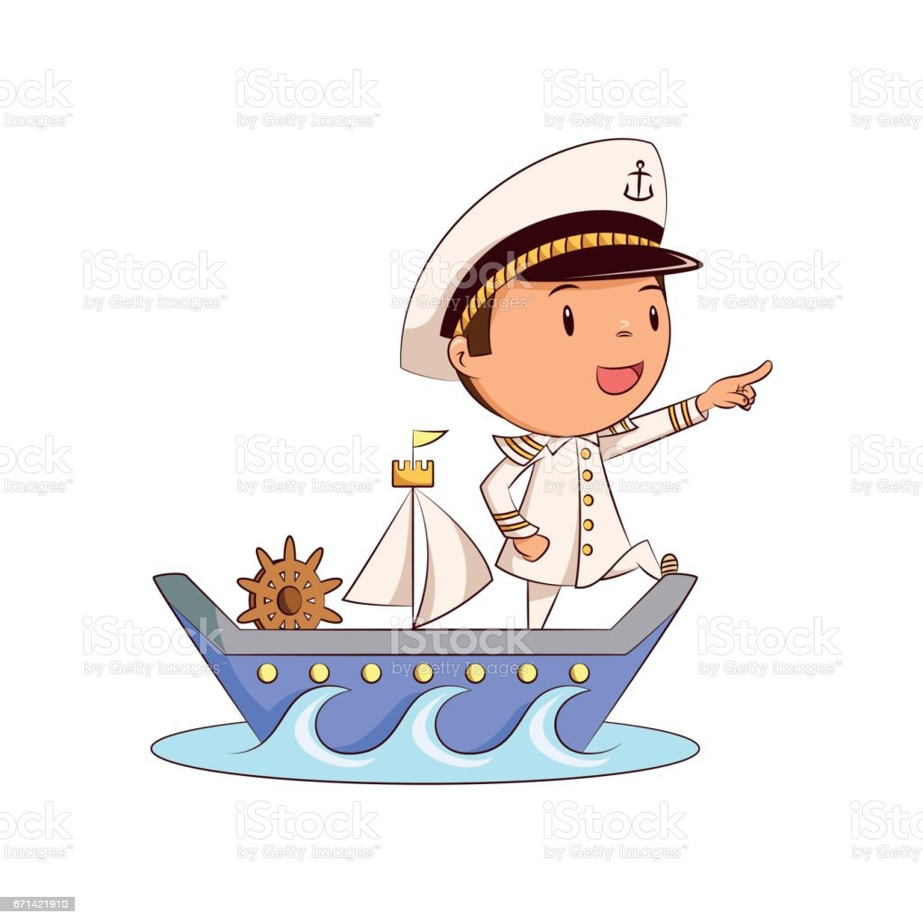 royalty free ship captain clip art vector images illustrations rh istockphoto com ship clipart png ship clipart easy