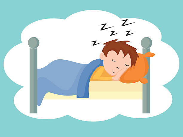 Royalty Free Bedtime Clip Art, Vector Images ...