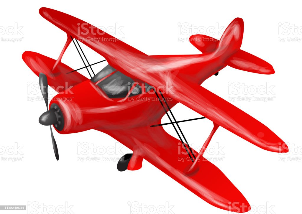 Child Toy Airplane Stock Illustration Download Image Now Istock