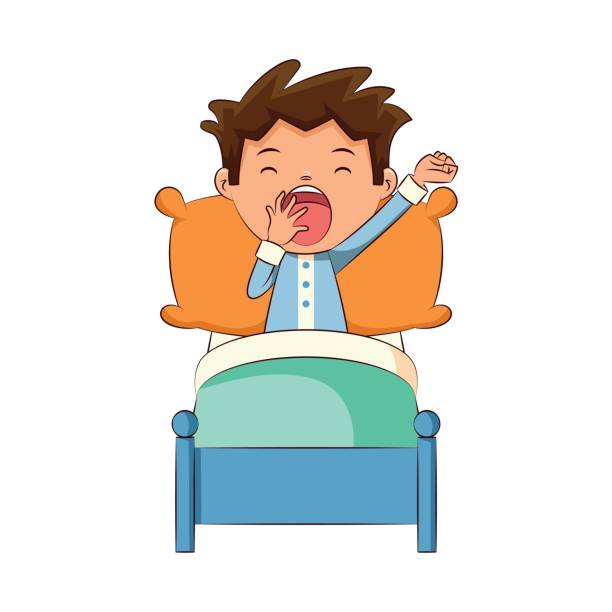 Royalty Free Yawning Clip Art, Vector Images