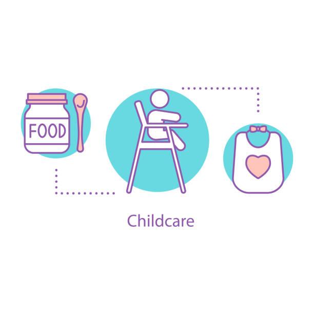 育児のアイコン - ベビーフード点のイラスト素材/クリップアート素材/マンガ素材/アイコン素材