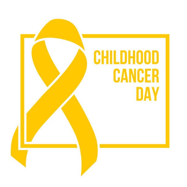 ilustraciones, imágenes clip art, dibujos animados e iconos de stock de día contra el cáncer de niñez - símbolo societal