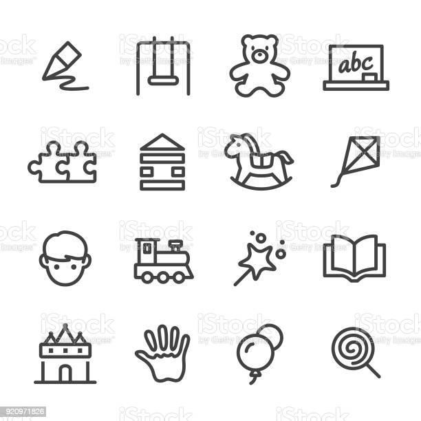Childhood icons line series vector id920971826?b=1&k=6&m=920971826&s=612x612&h=2rffbab qfjrdbfdhf7gtwlfcopno0zfmejikr2fet4=