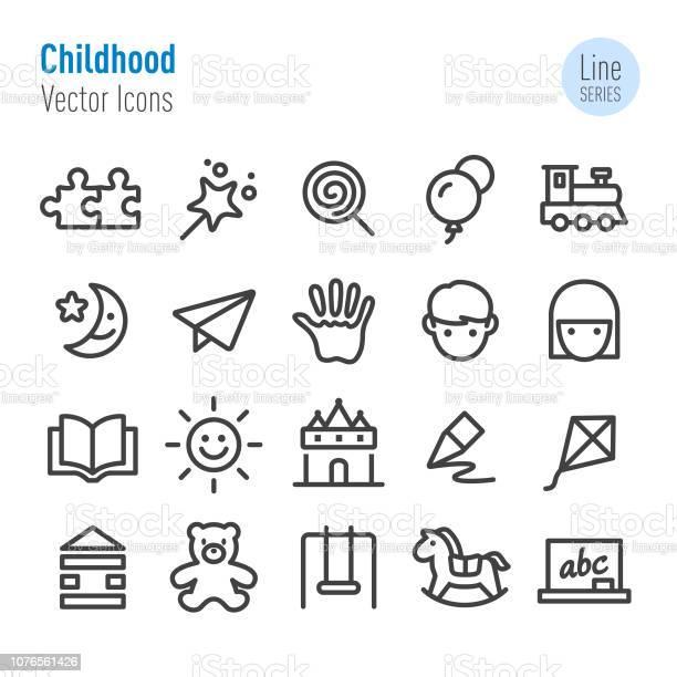 Childhood icons vector line series vector id1076561426?b=1&k=6&m=1076561426&s=612x612&h=cxkyjr9 hedwxrltbv9ntb2dzdknzz62jcn8zydjqxq=