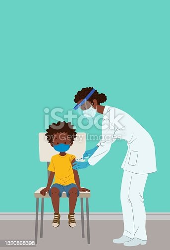 istock Childhood vaccination against COVID-19 1320868398