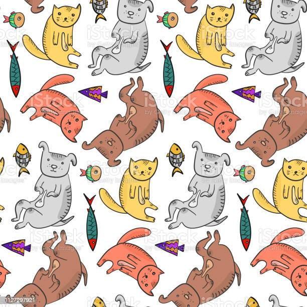 Childish pattern with cute colorful pets vector id1127297921?b=1&k=6&m=1127297921&s=612x612&h=vhcapjxgbemxa sr m5mtaaqkkiawdtt1qdyclbaate=
