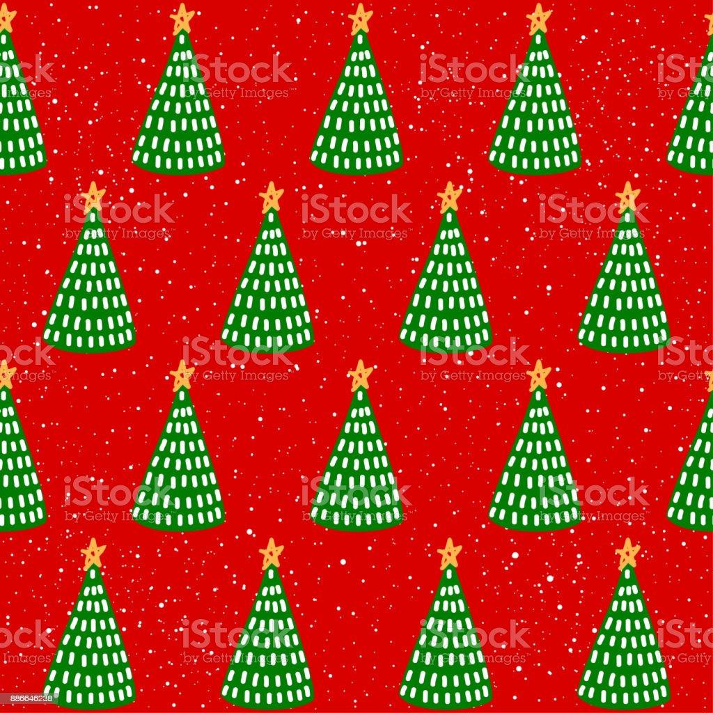幼稚な単純な手描きデザイン年賀状 クリスマス壁紙 アルバム カバー
