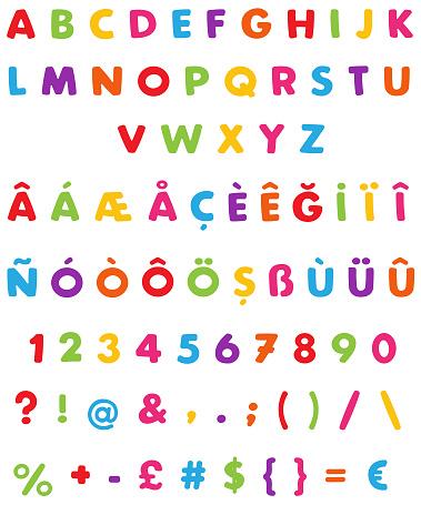 Children Alphabet