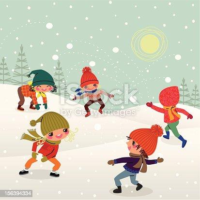 Rural children and Snowballs flight.
