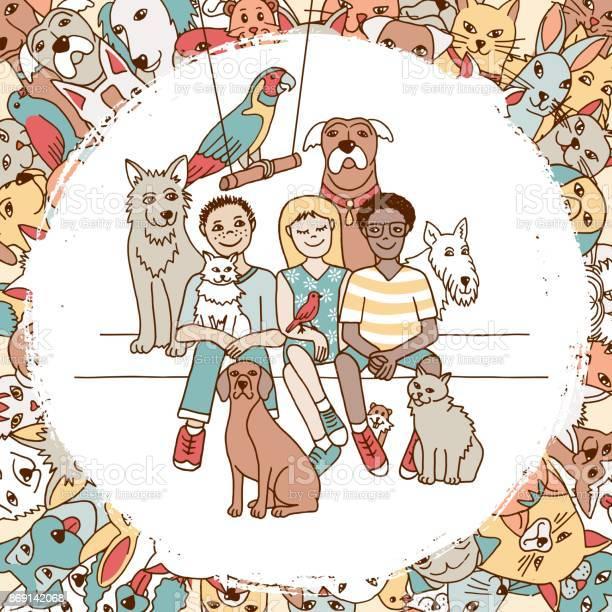 Children and their pets vector id869142068?b=1&k=6&m=869142068&s=612x612&h=v0cvto9ssiognecgrb7sb1fyzm9wa2neuh9odh1kew8=