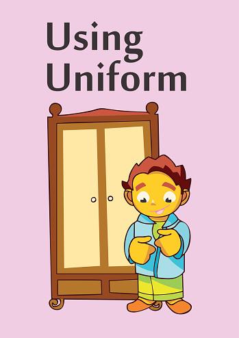 Children Card - Children Activity - Using Uniform