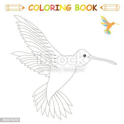 Ilustración de Los Niños Página Para Colorear Vector Ilustración ...