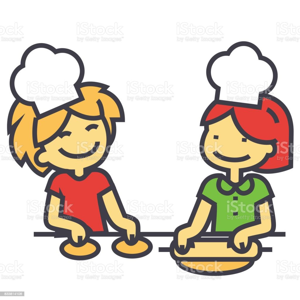 royalty free cooking class adults clip art vector images rh istockphoto com