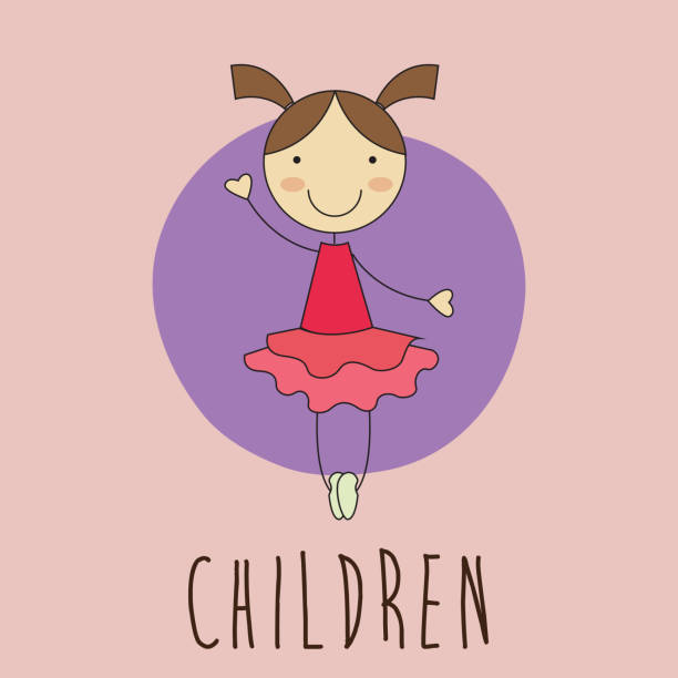 illustrations, cliparts, dessins animés et icônes de les enfants design - enfants de bande dessinée