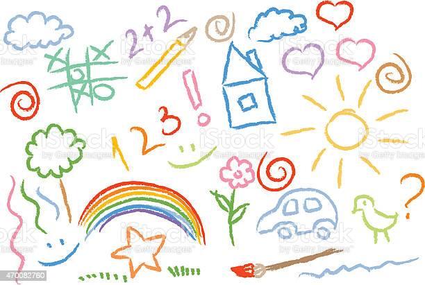 Children drawing multicolored symbols vector set vector id470082760?b=1&k=6&m=470082760&s=612x612&h=wrx rlyra6xwxnuq8hwrnjjltwqn htelciy936zh1g=