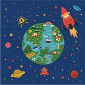 """""""Children love to explore our world and space. All items are well grouped, easy to use!"""""""