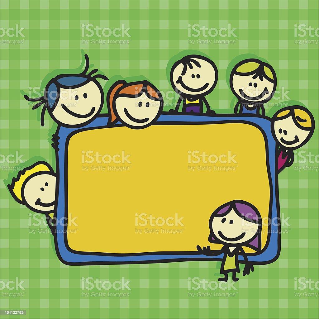 Children go back to school royalty-free children go back to school stock vector art & more images of blackboard
