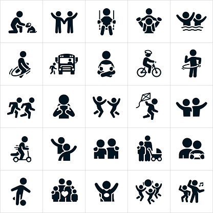 Children Icons clipart