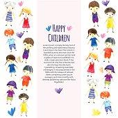 Children illustration.