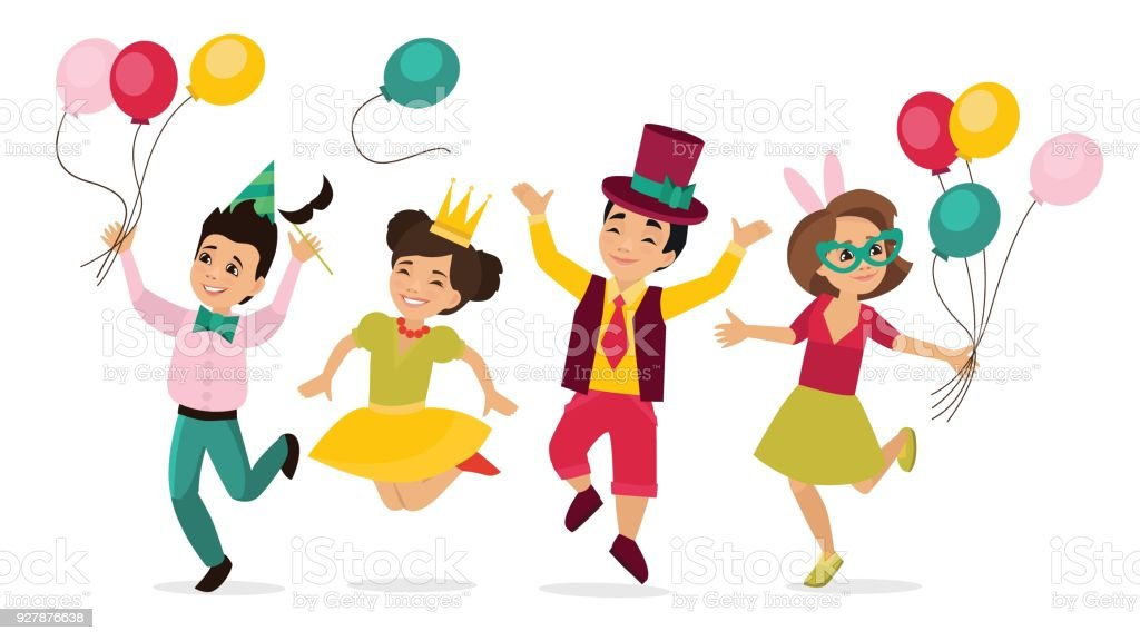 Children in carnival costumes royalty-free children in carnival costumes stock vector art u0026&;  sc 1 st  iStock & Children In Carnival Costumes Stock Vector Art u0026 More Images of ...