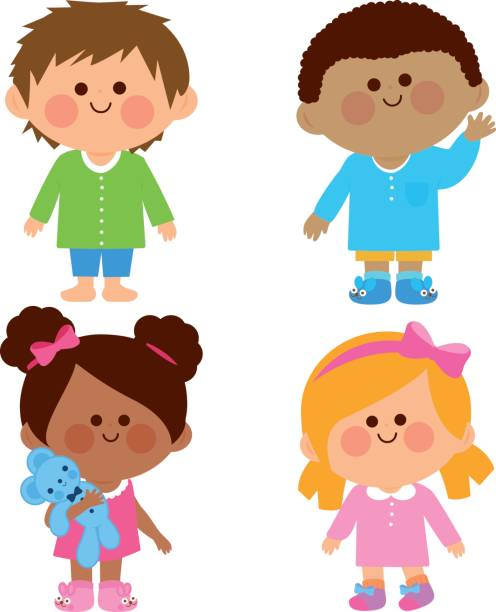 1 255 Pajama Party Illustrations Royalty Free Vector Graphics Clip Art Istock