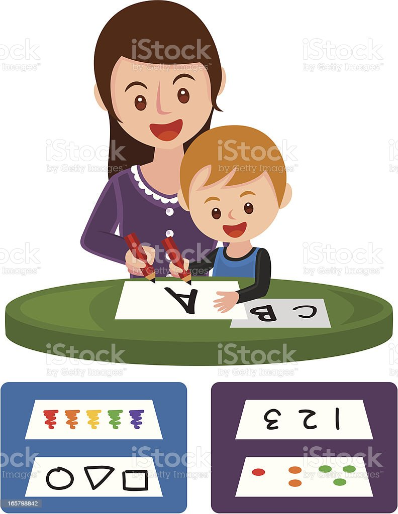 children learn to write royalty-free children learn to write stock vector art & more images of alphabet