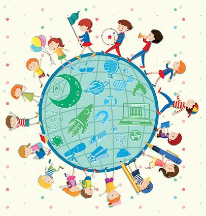 Children love science around the world