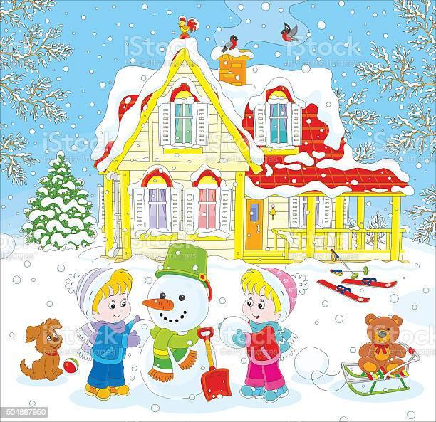 Children making a snowman vector id504867950?b=1&k=6&m=504867950&s=612x612&h=ese9lkdqkcrwmmqbovsxvbrqgxsmrmb2wbregmhuk4k=